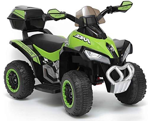 Lean Quad ATV Kinderquad T-Rex Green 6V Elektroquad für Kinder Kinderfahrzeug elektrisch