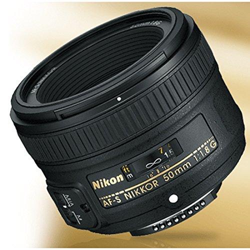 Nikon 50mm f/1.8G Auto Focus-S NIKKOR FX Lens - (Renewed)