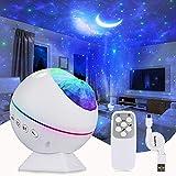 Tobeape LED Sternenhimmel Projektor Lampe, Stern Projektion Nacht Licht, Projektor Nachtlicht mit 40 Beleuchtungsmodi Perfekt für Baby Kinder Party, Familientreffen, Auto, Weihnachtsgeschenke