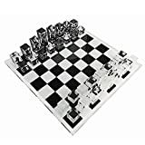 INFINITY 17.3' Lucite Chess Set Luxury, Professional and Premium Quality