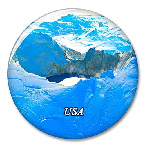 Estados Unidos América Monte Chiginagak Alaska Imán de Nevera, imánes Decorativo, abridor de Botellas, Ciudad turística, Viaje, colección de Recuerdos, Regalo, Pegatina Fuerte para Nevera