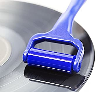 Record Cleaner Roller - Vinyl Cleaning Device That Will Not Damage Your Records - Spot Clean Your LPs in Seconds- Anti-Static - No SolutionRequired - Rejuvenate & Keep Your Albums Sounding Awesome