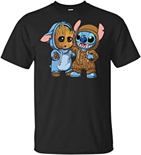 Best groot and stitch t shirt Reviews