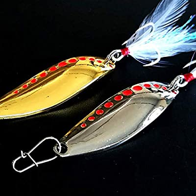 5pcs Topwater Popper Minnow Fishing Lures,7CM Crankbait Tackle Tiddler Bait Bass Trout Shad Tackle Spinner Sea Fluke Saltwater Bream