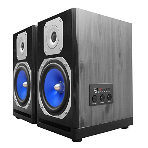 Lowest Prices! Technical Pro MB6000 Active & Passive Studio Monitor 600 Watts Pair Computer TV Speak...