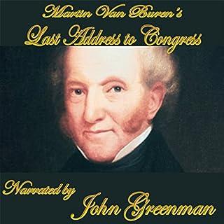 Martin Van Buren's Final Address audiobook cover art