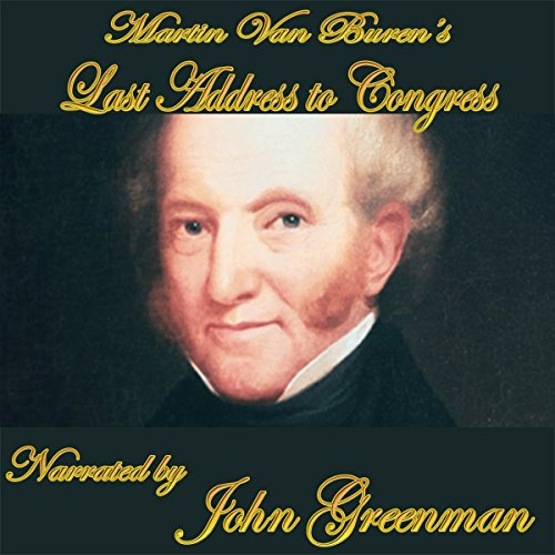 Martin Van Buren's Final Address cover art