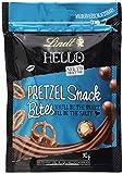 Lindt & Sprüngli  HELLO Snack Bites Pretzel, knackige Vollmilchschokolade mit Brezel-Füllung, 4er Pack (4 x 90 g), 21141