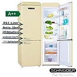 SCHNEIDER CONSUMER SL 250 C-CB A++ frigorifero con congelatore Libera installazione Crema 251 L A++