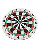 Tableros De Corcho De Dardos For Adultos, 1 Juego De Tablero De Dardos Y AmpDarts Determinado del Juego Sala De Juegos Dardos de Doble Cara (Color : 1 Set)