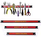 Die Nr. 1 auf Amazon - Alaskaprint 3x Magnet Werkzeugleiste Magnetisch Werkzeughalter Werkzeugholder Magnetschiene...