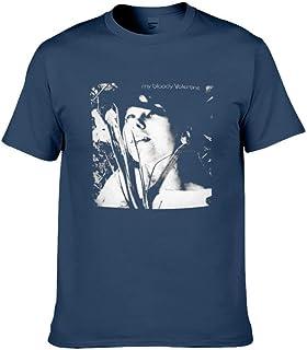 QNONGQマイ・ブラッディ・ヴァレンタイン Tシャツメンズ 半袖 おおきいサイズ サマー インナーシャツ 快適 スポーツ カップル 吸汗速乾 薄手 Tシャツ 綿100% 男女兼用
