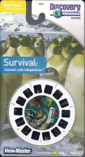 Discovery Channel Survival: Animals and Adaptations 3D View-Master 3 Reel Set