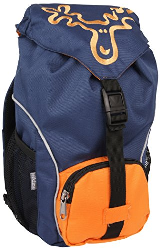 elkline Ruckizucki Kinderrucksack, blau/orange
