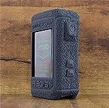 ModShield for Geekvape Aegis X 200W Silicone Case ByJojo Protective Cover Shield Skin Wrap (Black)