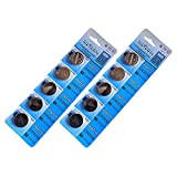 CR2032 3V リチウムコイン ボタン電池5個入×2シート(合計10個)