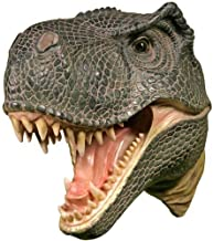 Wall Mounted T-rex Dinosaur Head Tyrannosaurus Rex Hanging Display Plaque Decor by SL