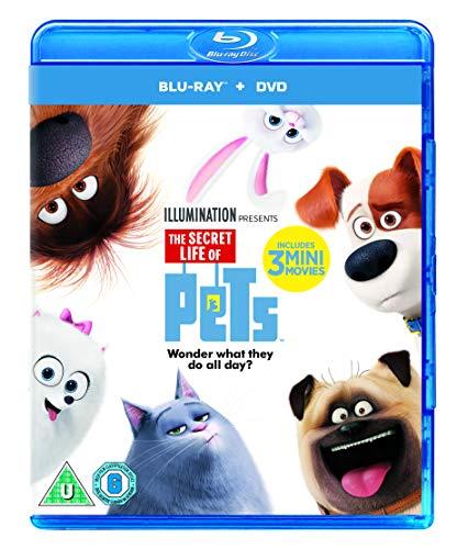 The Secret Life Of Pets (Blu-ray + Digital Download) [2015] UK-Import, Sprache-Englisch...