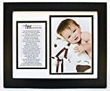 The Grandparent Gift Co. First Grandchild Photo Frame With Poem