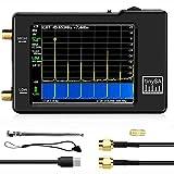 TinySA Handheld Tiny Spectrum Analizador de espectro de pantalla táctil de 2,8 pulgadas, 100 KHz-350 MHz, generador de señal con batería
