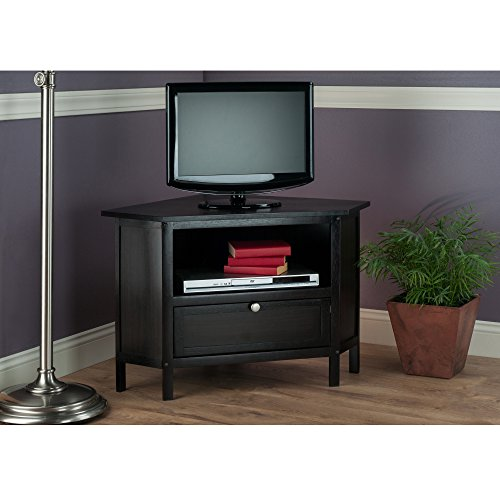 Winsome Wood 92634-WW Zena Media/Entertainment Espresso