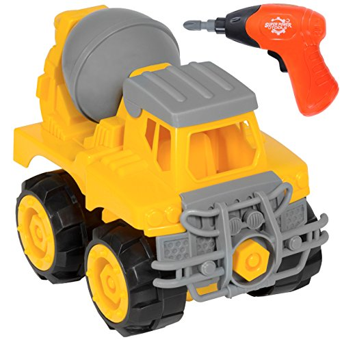 Best Choice Products Kids Assembly Take-A-Part Cement Mixer