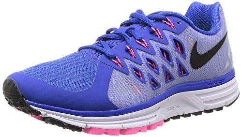 Nike Damen WMNS Zoom Vomero 9 Sneaker, Mehrfarbig (Lyon Blue/Black-White-PINK POW), 36.5 EU
