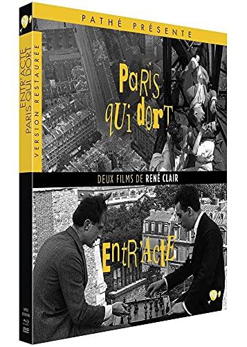 Deux Films de René Clair : Entr'acte + Paris Qui dort [Combo Blu-Ray + DVD]