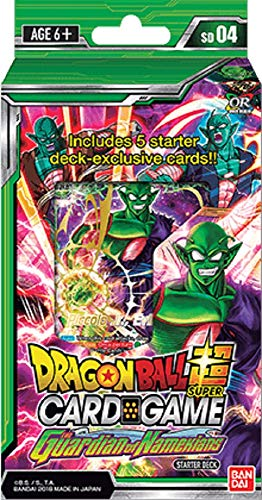 Bandai BCLDBSP7917 Dragon Ball Super CG: Starter Deck SD04 The Guardian of Namekians, Multicolor