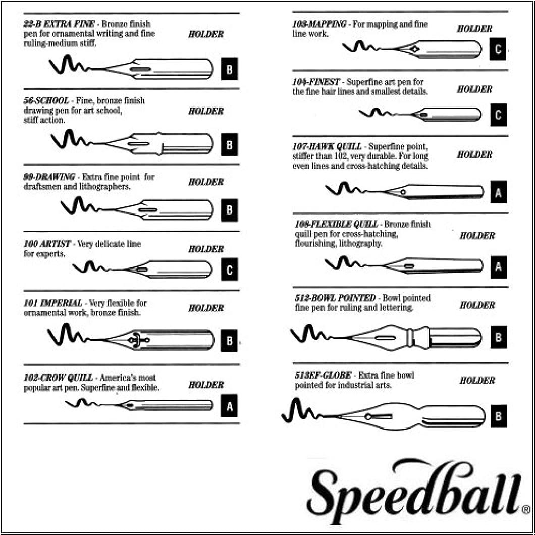 Speedball Art Products 094101 99101 Artist Pen Fine Nib tbnwrfz68