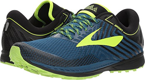 Brooks Mazama 2, Zapatillas de Cross para Hombre, Multicolor (Blue/Black/Nightlife 419), 41 EU