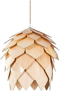 Iluminación Colgante Lámpara Lámpara de bambú de la Armadura de piña Linterna Redonda DIY de Mimbre Rattan Pantallas de lámparas Que cuelgan del Techo de la lámpara de la Vendimia China luz Pendiente