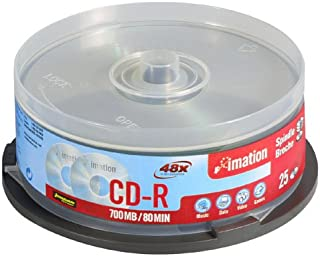 Imation - 25 x CD-R - 700 MB 48x - storage media