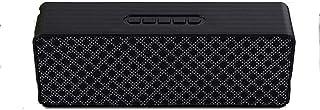 KJRJLY Smart Bluetooth Speaker Small Bluetooth Speaker Smart Card Audio Gift Black Rectangle Portable