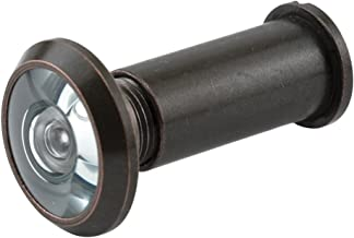 Prime-Line Products U 10313 Door Viewer, 9/16 in. Bore, 180-Degree View Angle, Classic..