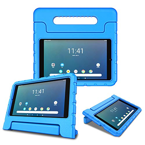 Fintie Shockproof Case for Onn. 8' inch Tablet - Kids Friendly Light Weight Convertible Handle Stand Proctive Cover for 8-inch Onn Android Tablet (Blue)