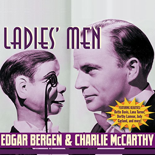 Edgar Bergen and Charlie McCarthy audiobook cover art