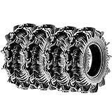 Terache 30x9-14 30x9x14 Tubeless 8 PR 30' ATV UTV Tires TE-AZ [Set of 4]