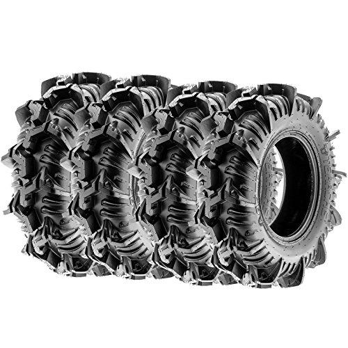 "Terache 30x9-14 30x9x14 Tubeless 8 PR 30"" ATV UTV Tires AZTEX [Set of 4]"