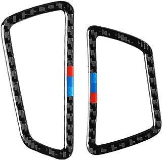 شارات تزيين إطار لوحة أجهزة القياس لتكييف الهواء من ألياف الكربون لسيارات For BMW.5GT F07 535i 2010-2016 ملحقات ملصقات الس...