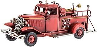 Metal Fire Truck Decoration