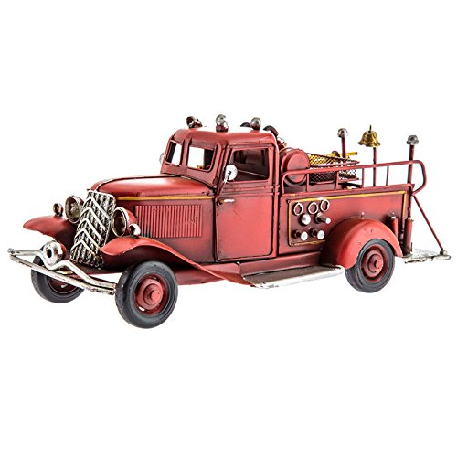 Vintage Fire Truck Decoration