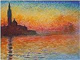 1art1 Claude Monet - Abendstimmung In Venedig, 1908 Poster