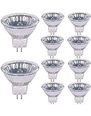 MR11 Halogeenlampen 20W 12V GU4 Bi-Pin Base Dimbaar Warm Wit Pack van 10
