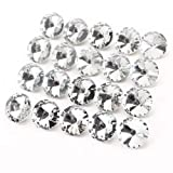 AKORD Diamante Diamante Efecto Silla sofá, de Cristal, 2,5x 2,5x 1cm