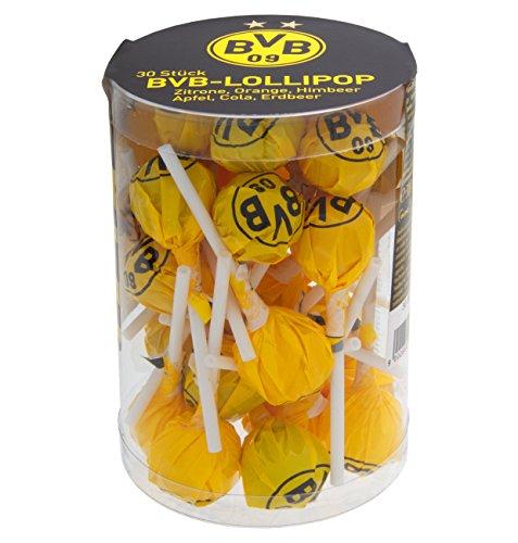 Woogie Borussia Dortmund BVB Lollipops, Lutscher, 1er Pack (1 x 300g)