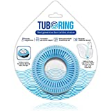 TubRing The Ultimate Tub Drain Protector Hair Catcher/Strainer/Snare, Regular -...