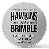 Hawkins & Brimble Matt Clay 100ml/ 3.4 fl oz - Non Greasy Matte Hair...