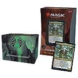 Magic: The Gathering Strixhaven Commander – The Gathering Strixhaven – The Commander – Blumenwelk-Hexenwerk (Negro y Verde) – Versión Alemana