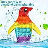 Immagine 1 joll penguin push bubble giocattolo